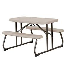 Lifetime Folding Picnic Table Lifetime 32 5 Folding Picnic Table Putty Sam S Club