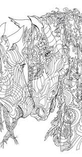 coloring pages horse printable coloring book clip art hand
