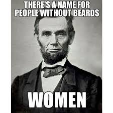 Meme Name - there s a name for people without beards women meme beardastic