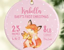 new baby ornament etsy