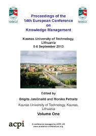 proceedings of the 14th european conference on knowledge