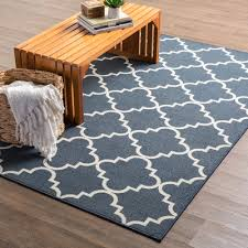 Blue Area Rug Wonderful Blue And White Area Rugs Hanley Navy Rug Reviews Allmodern Photos In 8 X 10 Woven Cotton Jpg