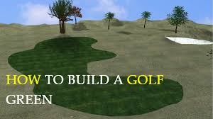 Building A Backyard Putting Green How To Build A Golf Green Youtube
