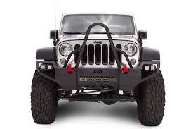 jeep stinger bumper fab fours vengeance stinger front bumper for 07 17 jeep wrangler