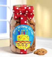 take the cake happy birthday cookies jar