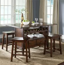Dining Room Table With Wine Rack Special Rectangular Bar Table Foster Catena Beds