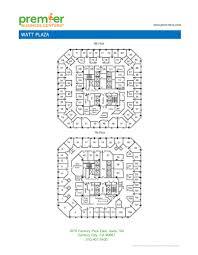100 floor plans for businesses 100 floorplans for homes floor plans for businesses century city executive office space watt plaza
