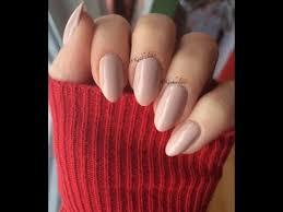 almond stiletto nail shaping youtube