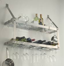 kitchen simple stainless steel kitchen wall shelves home design