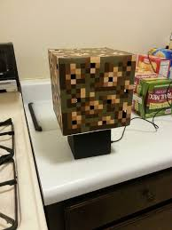 minecraft glowstone cube lamp minecraft bedroom minecraft stuff