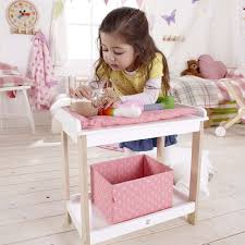 Doll Changing Tables Baby Changing Table E3602 Hape Toys