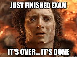 Exam Meme - a little bit of everything so comps hilarious pinterest