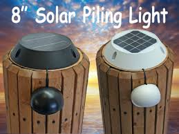 solar dock lights solar dock lighting