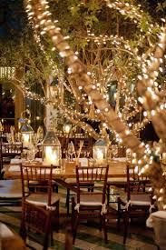 Fairy Light Tree by Tree Lights Outdoor Wedding Sacharoff Decoration