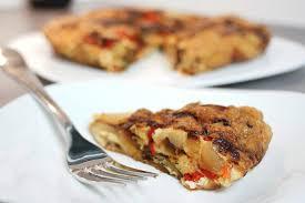 la cuisine d hervé recette vidéo de la tortilla de patatas espagnole au safran