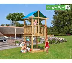 wooden climbing frames jungle gym