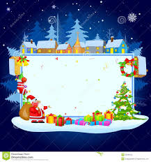 santa claus wishing merry stock photography image