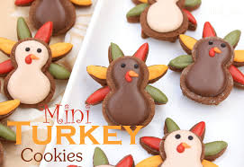 turkey cookies for thanksgiving mini turkey cookies for thanksgiving lilaloa mini turkey