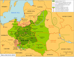 Breslau Germany Map by Poland 1915 1939 Map Stampworldhistory