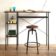 Work Table Desk Country Wrought Iron Wood Desk Study Living Room Creative Work