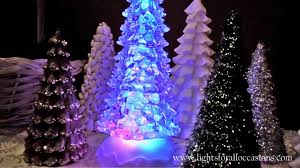 lighted christmas tree lighted christmas tree w glitter spinner color changing leds