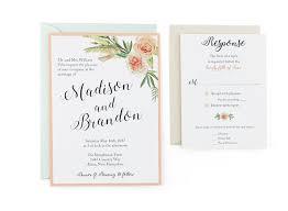 wedding invite templates free wedding invitation amulette jewelry