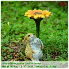 Garden Rabbits Decor Gift Collection Picture More Detailed Picture About Everyday