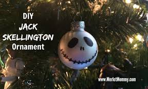diy skellington ornaments jackskellington merlot