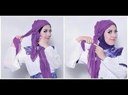 tutorial turban sederhana tutorial hijab dian pelangi cara memakai jilbab modern turban kepang