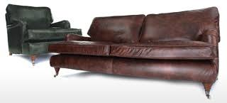 shabby chic leather sofa howard shabby chic leather sofa from old boot sofas