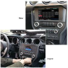 mustang navigation 8 2 din car gps navigation 720p multimedia player cd for ford