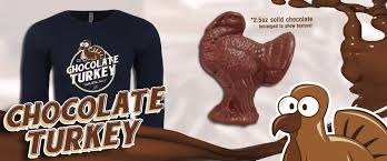 the chocolate turkey