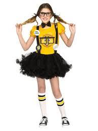 Nerd Halloween Costumes Girls Kids Girls Kitty Nerd Tween Costume Wholesale Halloween Costumes
