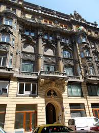 which side does st go on file residential building five story late eclectic mansion with