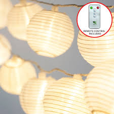 Outdoor Light Remote Control by Amazon Com Frux Home And Yard 24 White Lanterns Indoor Outdoor