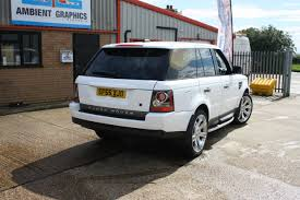 wrapped range rover sport active rentals range rover sport white wrap 04 ambient graphics