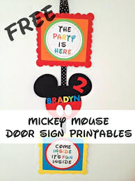 coloring pages free mickey mouse clubhouse printables free