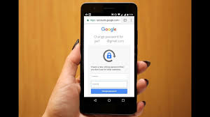 change password on android phone how to change recover forgotten gmail password in android phone