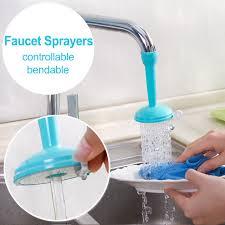 kitchen faucet nozzle kitchen faucet sprayers adjustable tap filter nozzle swivel spout