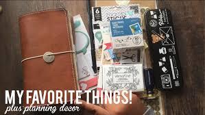 Pennsylvania travelers notebook images My favorite things for my travelers notebook planning decor jpg