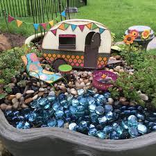 fairy garden fluffing snap peas