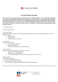 Simple Business Model Template Thesis Proposal Samples Pdf