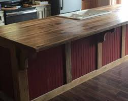 custom built kitchen island kitchen island etsy