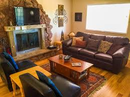 Cabin Sofa Little Pines 2 Bdrm Mountain Vacation Rental In Wrightwood Ca