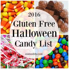 free halloween 2016 gluten free halloween candy list msmodify