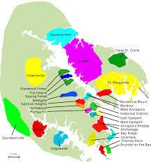 Neighborhood Map Annapolis Accommodations Neighborhood Map