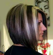 bob haircut with low stacked back shoulder length best bob hairstyles style samba