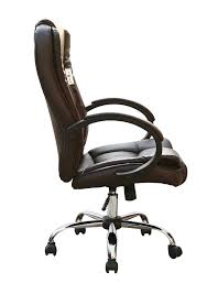 Luxury Leather Office Chairs Uk High Back Executive Swivel Computer Desk Faux Leather Office Chair