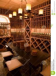 luxury home wine cellar stock image image 4484361