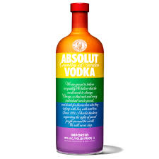 rainbow cocktail drink absolut wants you drinking to equality with rainbow vodka shots